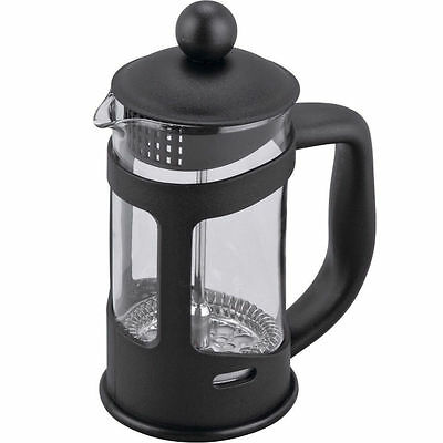 6 Cup Cafetiere Coffee Plunger Zodiac Black Coffee Maker French Press Glass