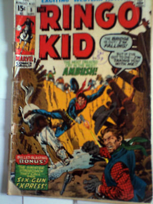 Ringo Kid 1970 Marvel comic Fair/Gd 15C bronze age Western