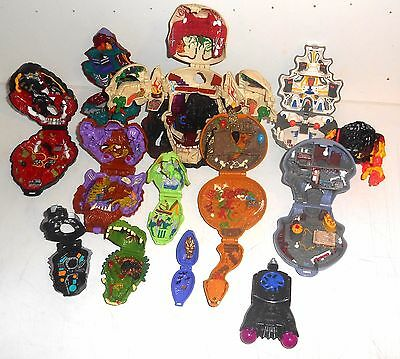 Vintage 1992 Mighty Max Toys ~ LARGE COLLECTION OF PLAYSETS ~ No Figures