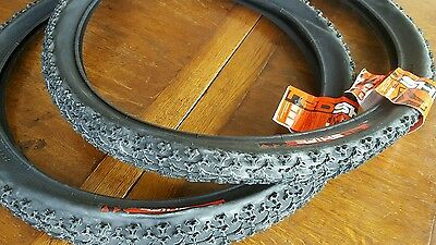 "DMR REDSHIFT Tyres (PAIR) 26"" x 2.0 mountain bike MTB tyre (NEW) RRP £35.98"