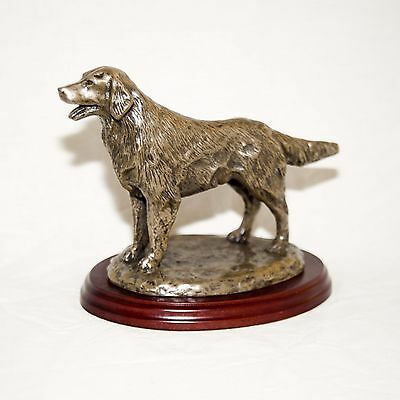 Flatcoat Retriever. Hand made in England. Ideal gift.