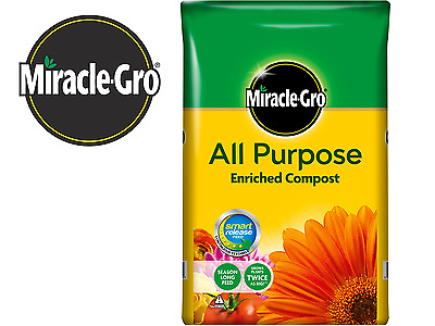 Miracle-Gro All Purpose Enriched Compost 50 Litres Pots Tubs Hanging Baskets