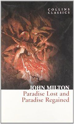 Paradise Lost and Paradise Regained by John Milton New Paperback Book
