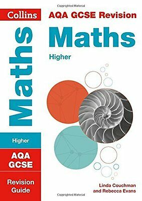 AQA GCSE Maths Higher Revision Guide by Collins GCSE New Paperback Book