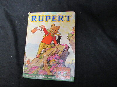 Acceptable 1111111111 Hardcover Rupert Annual 1964 Daily Express