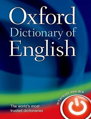 Oxford Dictionary of English by Oxford Dictionaries New Hardback Book