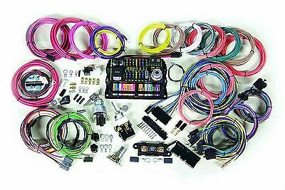 wiring harness street rod wiring diagram coach controls street rod wiring kits universal wire and