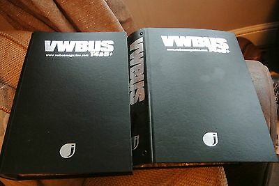 VW Bus T4 & T5 Magazines 21 Issues (2 years nearly compelete) Plus Binders