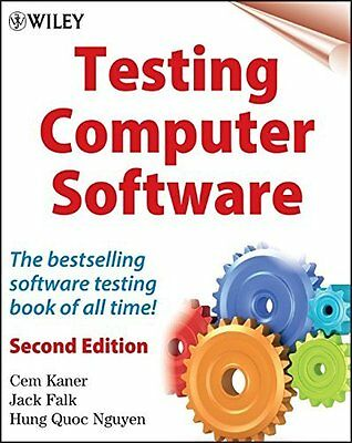 Testing Computer Software by Cem Kaner New Paperback Book