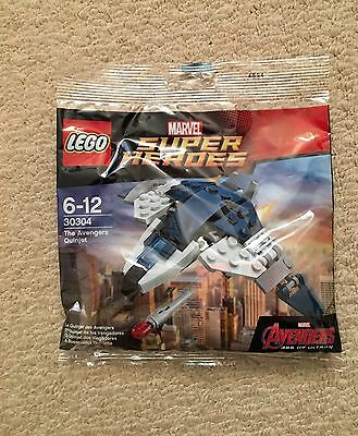 New Lego Marvel Super Heroes 30304 The Avengers Quinjet New Polybag