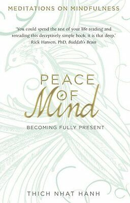 Peace of Mind by Thich Nhat Hanh New Paperback Book