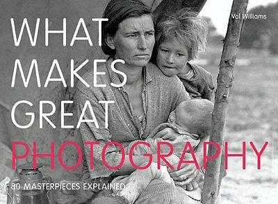What Makes Great Photography by Val Williams New Paperback Book