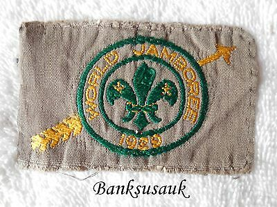 1929 Boy Scout Official World Jamboree Badge – Very Rare