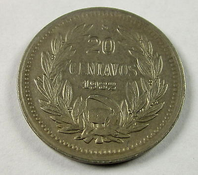 Chile 20 Centavos, 1932, Circulated, Uncertified
