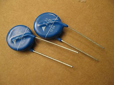 Qty 2 MOV - Metal Oxide Varistor - SIOV - S20K625 EPCOS ROHS Compliant