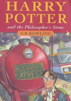 Harry Potter and the Philosopher's Stone by J. K. Rowling New Hardback Book