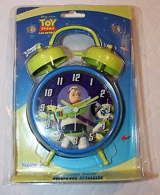 Toy Story Buzz Lightyear Alarm Clock with 2nd Hand