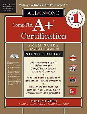 CompTIA A+ Certification All-in-One  by Mike Meyers New Mixed media product Book