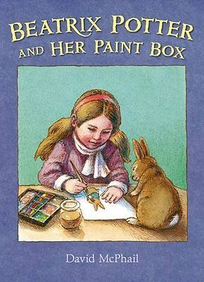 Beatrix Potter and Her Paint Box by David McPhail New Hardback Book