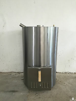 WOOD FIRED fuelled powered SWIMMING POOL HEATER STOVE 80kW