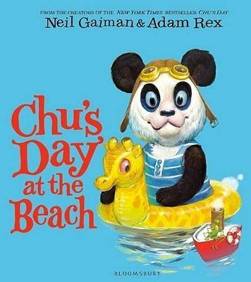 Chu's Day at the Beach by Neil Gaiman New Paperback Book