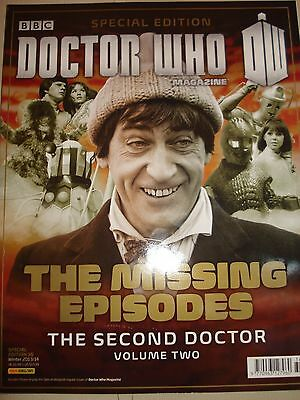 Doctor Who Magazine Special Edition The Missing Episodes Second Doctor Volume 2