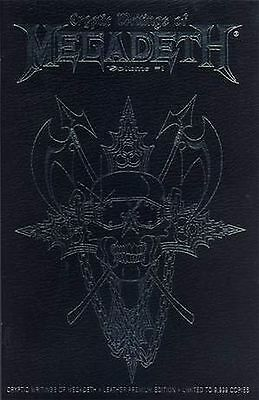 Cryptic Writings of Megadeth Volume #1 Leather Premium Limited Edition (Chaos)