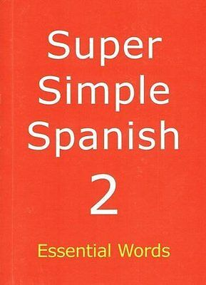 Super Simple Spanish by Meagher  Desmond Paperback New  Book