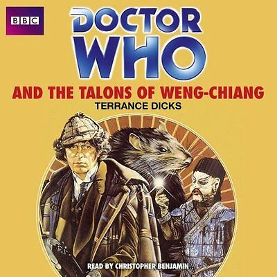 Doctor Who and the Talons of Weng-Chiang by Terrance Dicks New CD-Audio Book