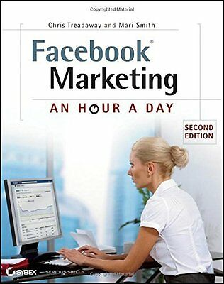 Facebook Marketing by Treadaway  Chris Paperback New  Book