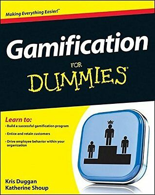 Business Gamification For Dummies by Duggan  Kris Paperback New  Book