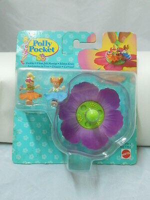 POLLY POCKET la giostra in Fiore  twirler carrusel playset Mattel