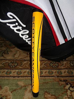 New In Plastic!!! Scotty Cameron Midsize Matador Putter Grip (Yellow/black)