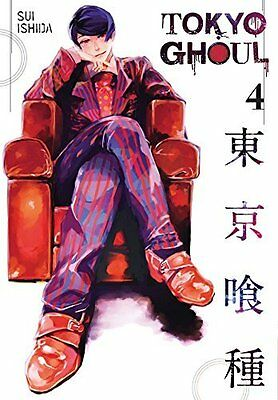 Tokyo Ghoul  Vol. 4 by Sui Ishida New Paperback Book