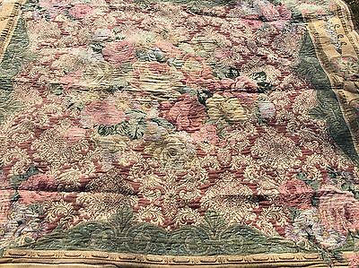 VINTAGE LUXURY THROW approx. 7X7 FEET