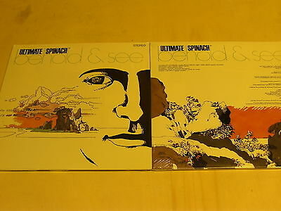 ULTIMATE SPINACH-behold&see-2 LP´s reissue of 1968-acid Rock-foc-Klappcover