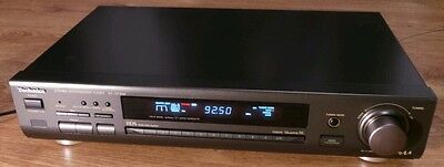 Rare Vintage Technics ST-GT550 Stereo AM/FM RDS Radio Tuner HiFi Separate