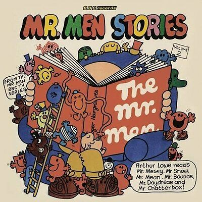 Mr Men Stories by Roger Hargreaves New CD-Audio Book