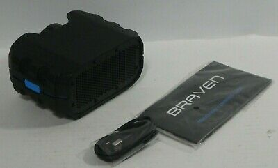 Braven BRV-1 HD Wireless Bluetooth Ultra Rugged Series Speaker Black/Blue FREE S