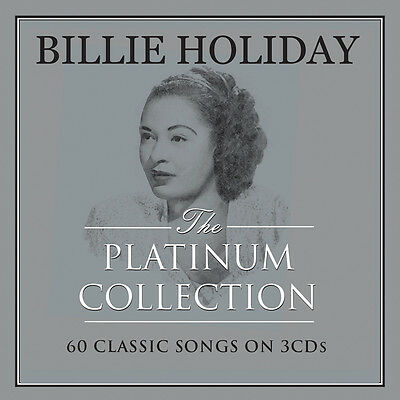 Billie Holiday PLATINUM COLLECTION Best Of 60 Essential Classic Songs NEW 3 CD