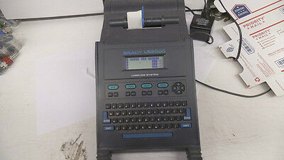 Brady LS-2000 labeling system, with ac adapter, used