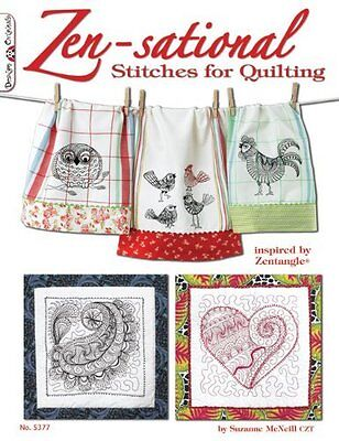 Zen-sational Stitches for Quilting by McNeill  Suzanne Paperback New  Book