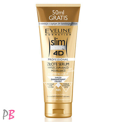 Eveline Slim Extreme 4D Gold Serum Slimming and Shaping Body Anti Cellulite
