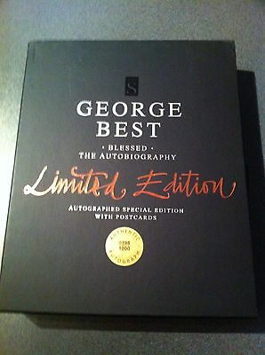 George Best Signed Limited Edition Book