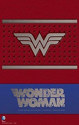 Wonder Woman Ruled Journal by Insight Editions New Hardback Book