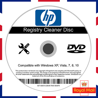 HP Registry Cleaner Software Fix Windows 7/8/10 Speed Up PC Slow Errors System