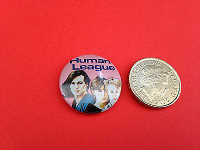 Human league early 80s button badge (2)