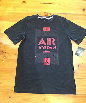 Air Jordan Childrens Boys Girls Basketball Tshirt Size 13-15 Yrs Nba Sports
