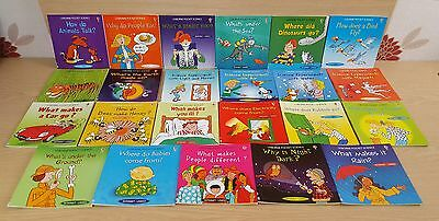 Usborne Pocket Science books early learning reading x 23 books educational