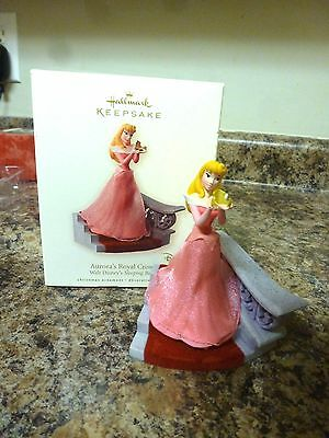2008 Hallmark Disney Sleeping Beauty Auroras Royal Crown Ornament In Box
